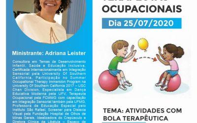 2º Mini-Curso On-line Atividades com a Bola Terapêutica