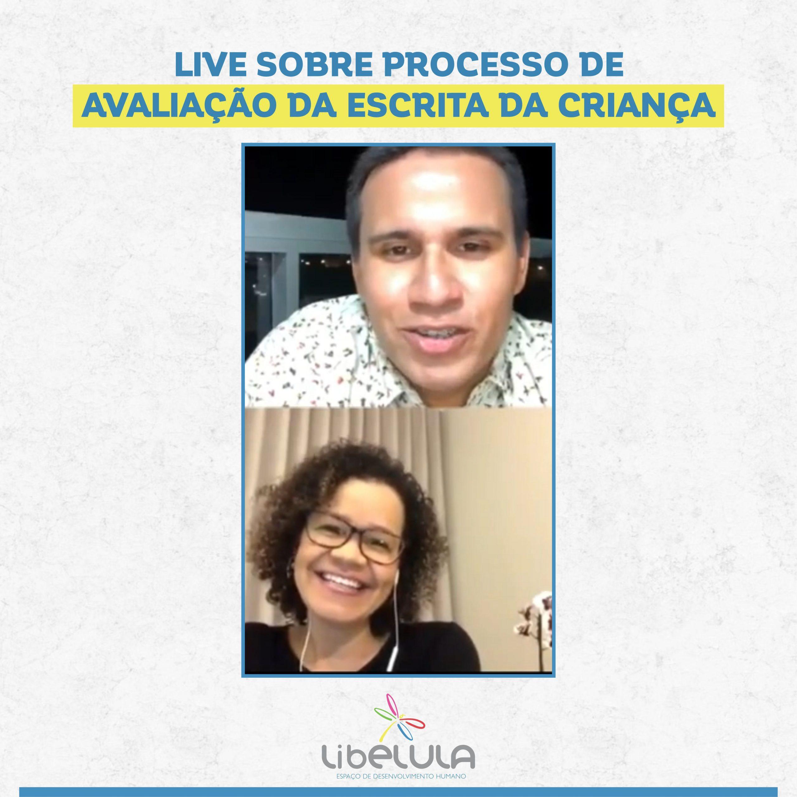 LIVE SOBRE PROCESSO DEAVALIAÇÃO DA ESCRITA DA CRIANÇA